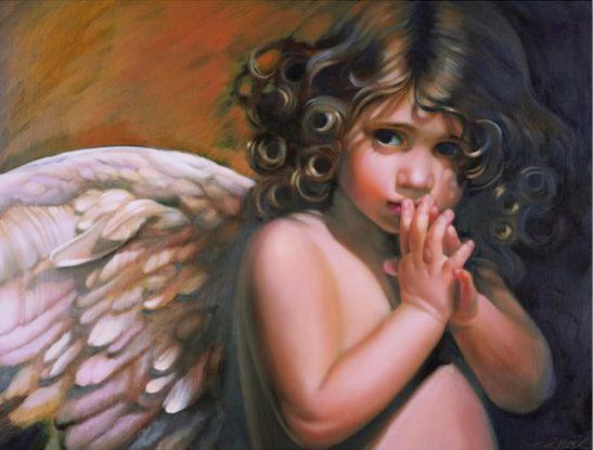 angeles-pintados-oleo