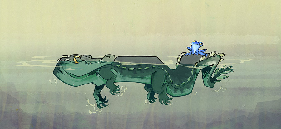 croc_and_toad_by_iktis-d31y9pk