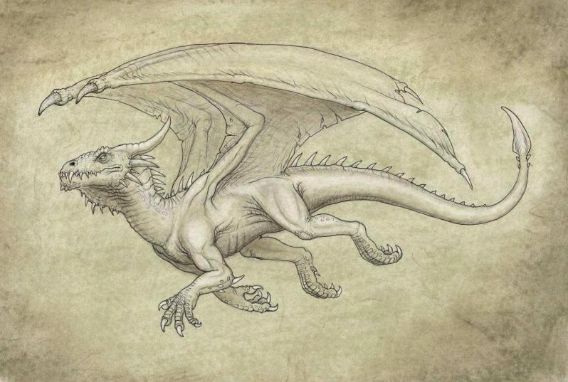 dragon_sepia_by_brokenmachine86