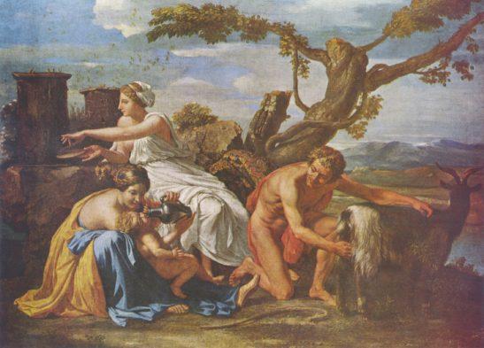 nicolas-poussin-jupiter-als-kind-von-der-ziege-amalthea-genaehrt-07773